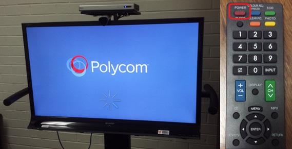 Steps to use a Polycom system